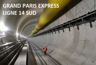 Grand Paris Express : Ligne 14 Sud